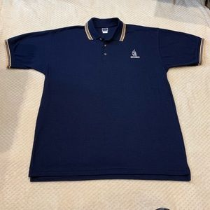 Navareti USA Bahamas Embroidered Polo Shirt - XL